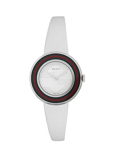 3e071a80c92 Gucci Web Stainless Steel Bracelet Watch