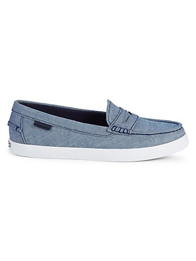 17b7776ddce8 Cole Haan Nantucket Chambray Loafers ...