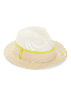 b08633a372b93 QUICK VIEW. Calvin Klein. Striped Band Panama Hat