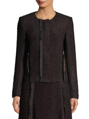 Donna Karan Blazers Textured Blazer Jacket
