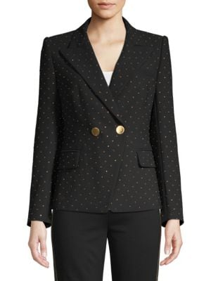 Kobi Halperin Jackets Nicole Stud Double-Breasted Jacket