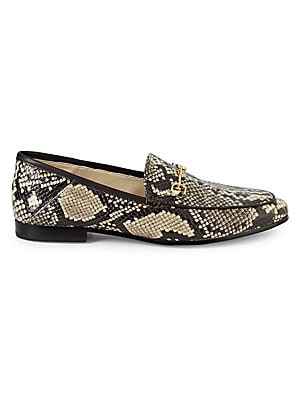Loraine Python Embossed Loafers by Sam Edelman