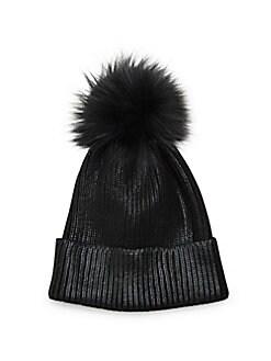 16da05770257a8 Shop Designer Fur Hats, Ear Muffs, & More | Saksoff5th.com