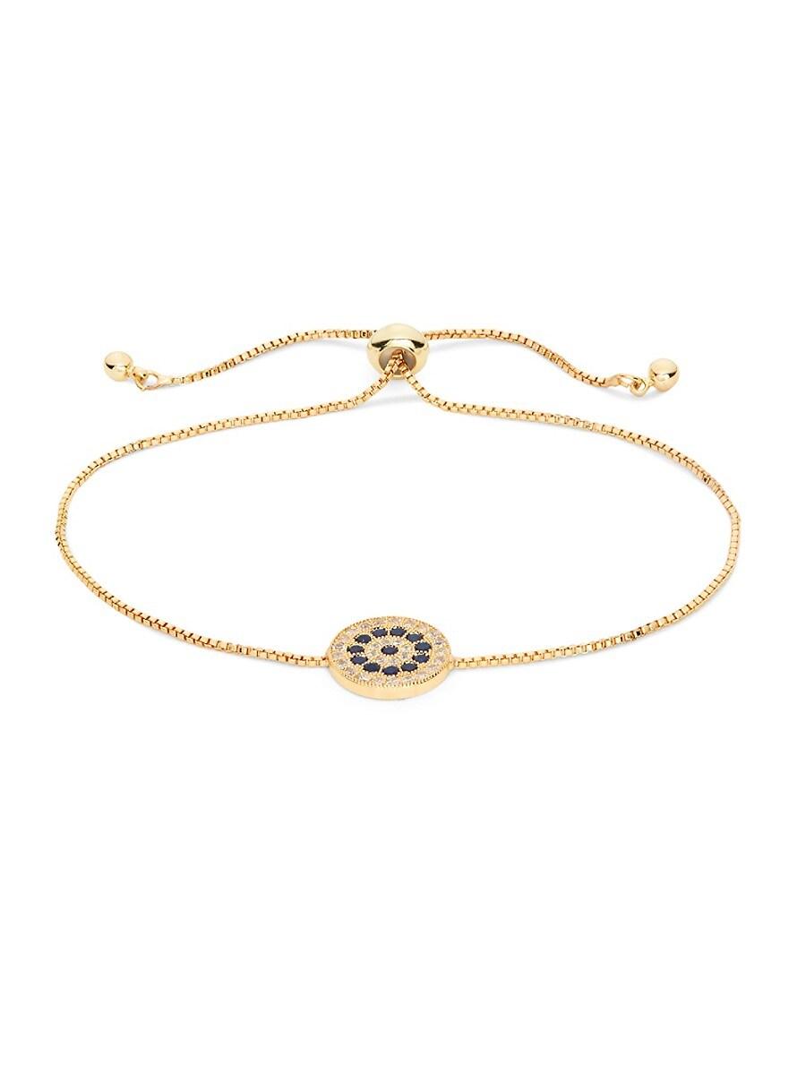 Women's Luxe Crystal Evil Eye Bracelet