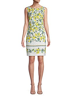 2350cbe284 QUICK VIEW. Karl Lagerfeld Paris. Sleeveless Floral Sheath Dress