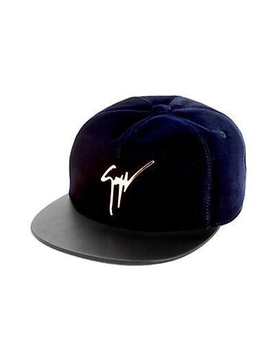 98ff05c00f5ba Giuseppe Zanotti Velvet Baseball Hat ...