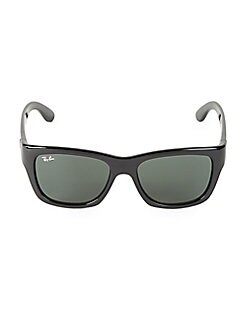 a1699915a9 QUICK VIEW. Ray-Ban. 53MM Solid Rectangular Sunglasses