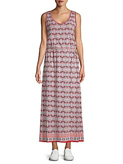 66bf3c30f7fd Product image. QUICK VIEW. Max Studio. Printed Sleeveless Maxi Dress