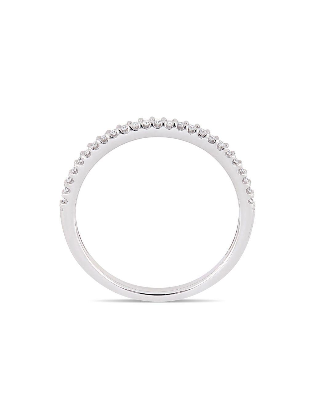 Sonatina 14K White Gold & Diamond Band Ring
