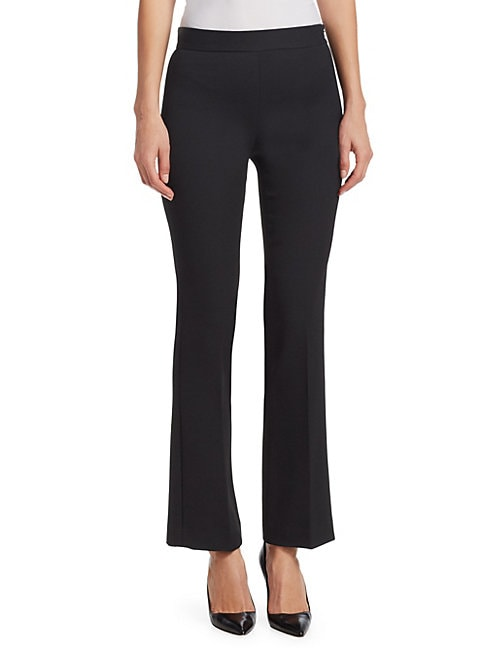 GIAMBATTISTA VALLI | Straight-Leg Solid Pants | Goxip