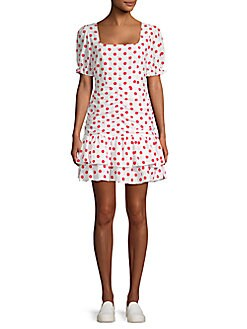 7e7b04f337c Product image. QUICK VIEW. Endless Rose. Polka Dot Mini Dress