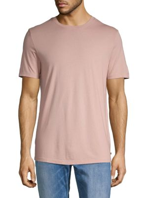 Ag Shorts Short-Sleeve Cotton Blend Tee