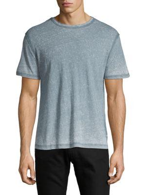 Ag Shorts Short-Sleeve Marled Tee