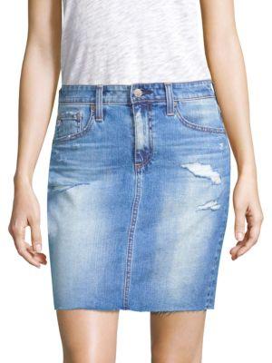 Ag Skirts The Erin Denim Skirt