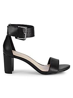 09e387593 Open-Toe Ankle-Strap Sandals BLACK. QUICK VIEW. Product image