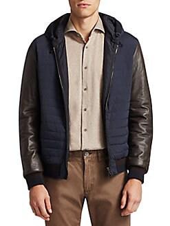 51701e7ff Men - Apparel - Coats & Jackets - Leather & Faux Leather ...