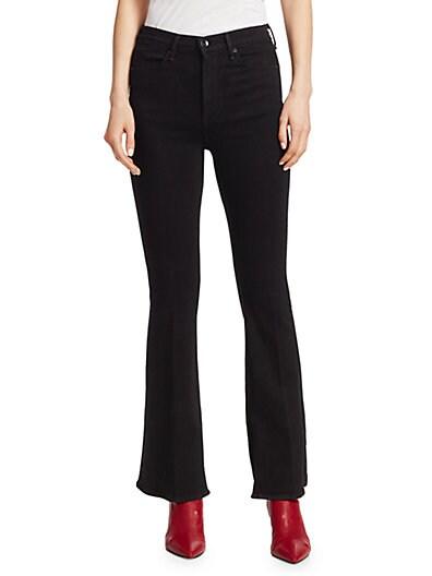 9ce1b8349ad Rag   Bone Bella High-Rise Slit-Hem Bootcut Jeans ...