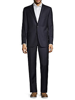 eb1c909ad164a Hickey Freeman. Classic-Fit Solid Wool Suit