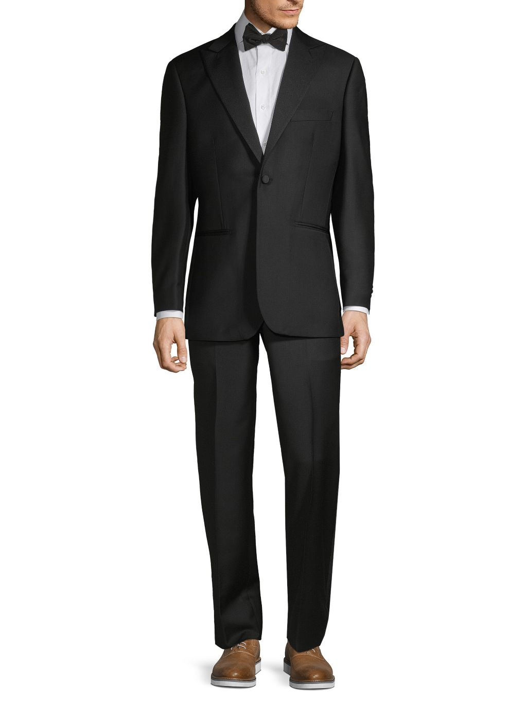 Saks Fifth Avenue Made in Italy Wool Tuxedo