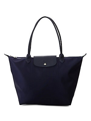 Logo Nylon Tote by Longchamp