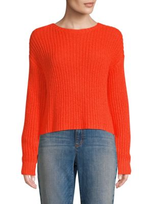 Eileen Fisher Knits Chunky Knit Crop Sweater