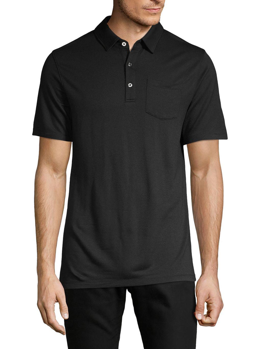 Pure Navy Short-Sleeve Polo