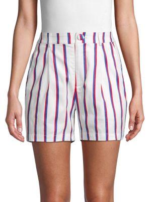 English Factory Shorts Striped Stretch Shorts