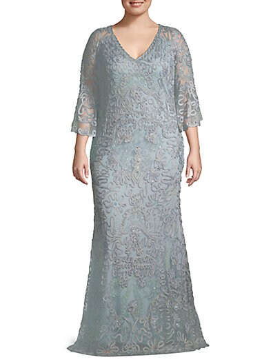 719d0af48b JS Collections Plus Celestial Metallic Soutache Gown ...