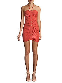 e07b728b4e3 QUICK VIEW. Free People. Hold On Ruched Bodycon Mini Dress