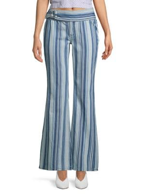 Free People Jeans Journey High-Rise Flared Jeans