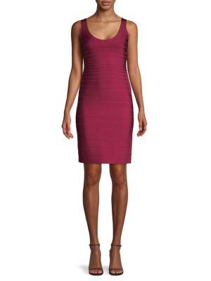 Herve Leger Dresses Signature Essentials Bodyon Bandage Dress