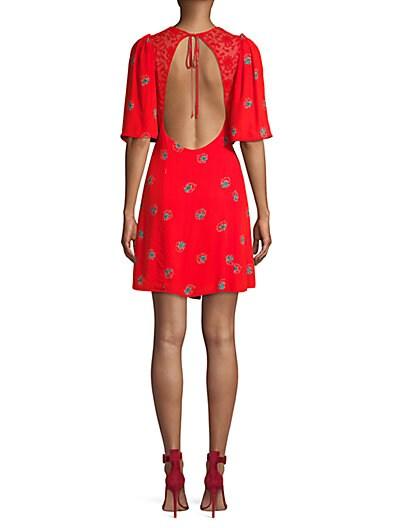 39c66d17fd495 Free People Mockingbird Mini Dress; Free People Mockingbird Mini Dress
