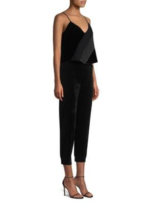 Parker Suits Frida Combo Strapless Cropped Jumpsuit