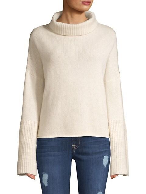 Lulu Bell Sleeve Turtleneck Sweater