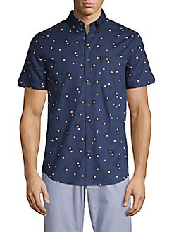 25a0642e2 Men's Casual Shirts: Ben Sherman & More | Saksoff5th.com