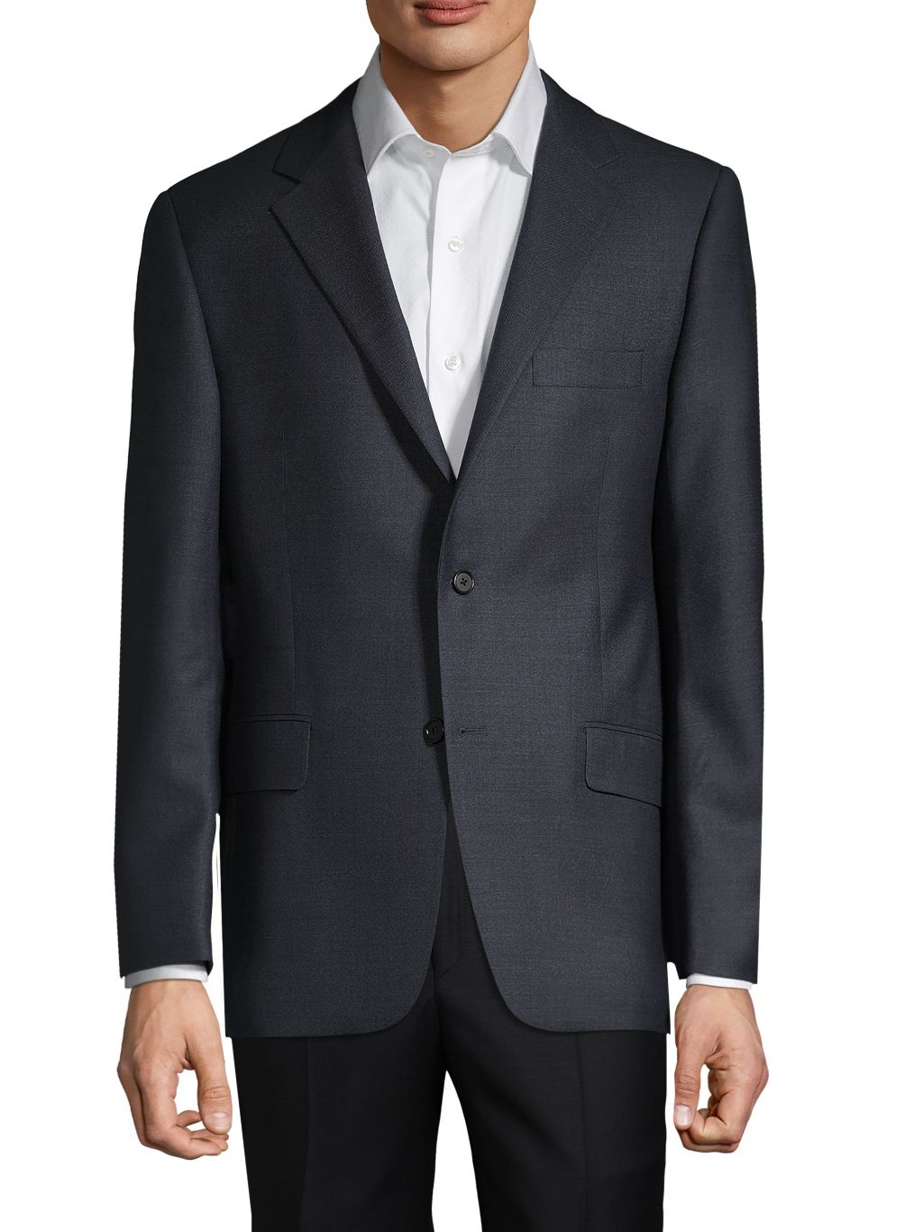 Hickey Freeman Wool-Blend Suit Jacket