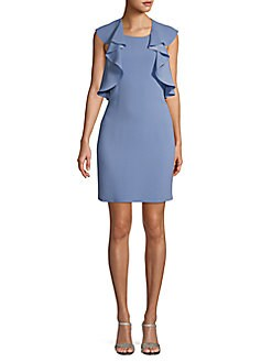 c190cfaeddb QUICK VIEW. BCBGMAXAZRIA. Ruffle Shift Dress