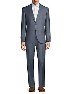 79df3ae56 Designer Men's Suits | Armani, Versace & More | Saks OFF 5TH