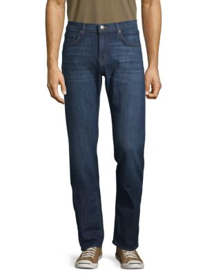 J Brand Classic Straight-fit Jeans In Seginus