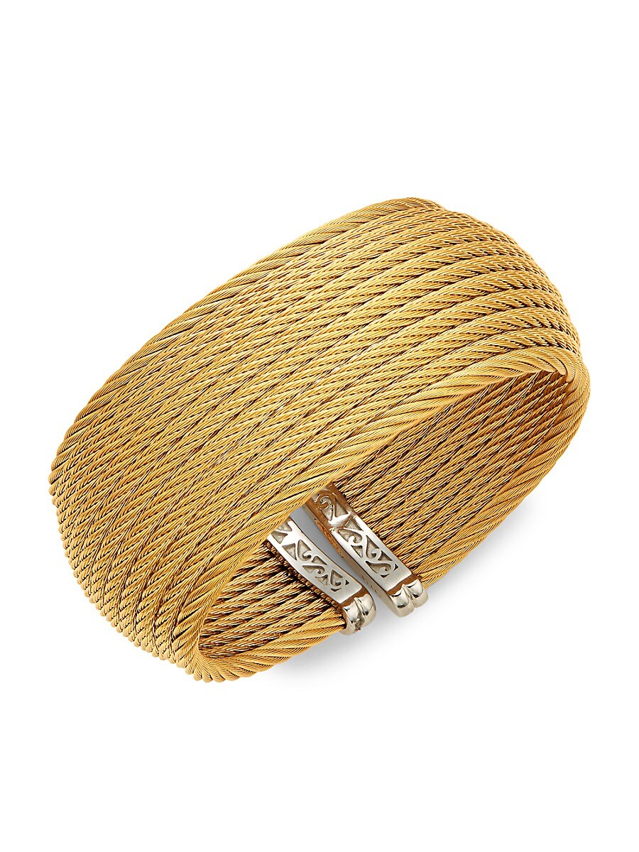 Women's Classique Stainless Steel Cuff Bracelet