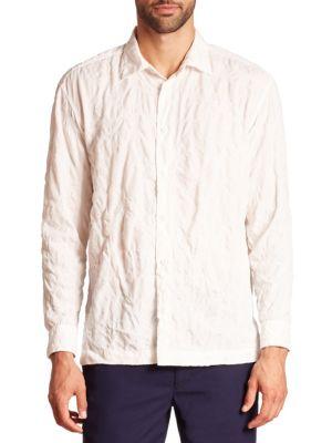 Issey Miyake T-shirts Shrink Treat Long Sleeve Shirt