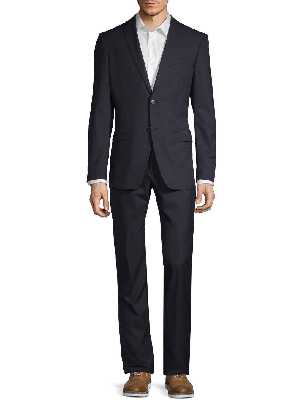 John Varvatos Star U.S.A. Classic Modern-Fit Wool Blend Suit