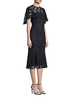 200e4f8e7d QUICK VIEW. Shoshanna. Harmonia Eyelet Lace Butterfly Sleeve Flounce Dress
