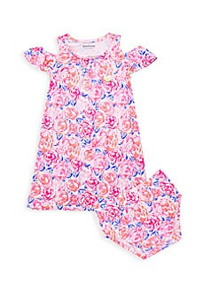 961bc3e0d QUICK VIEW. Juicy Couture. Baby Girl's 2-Piece Floral Dress ...