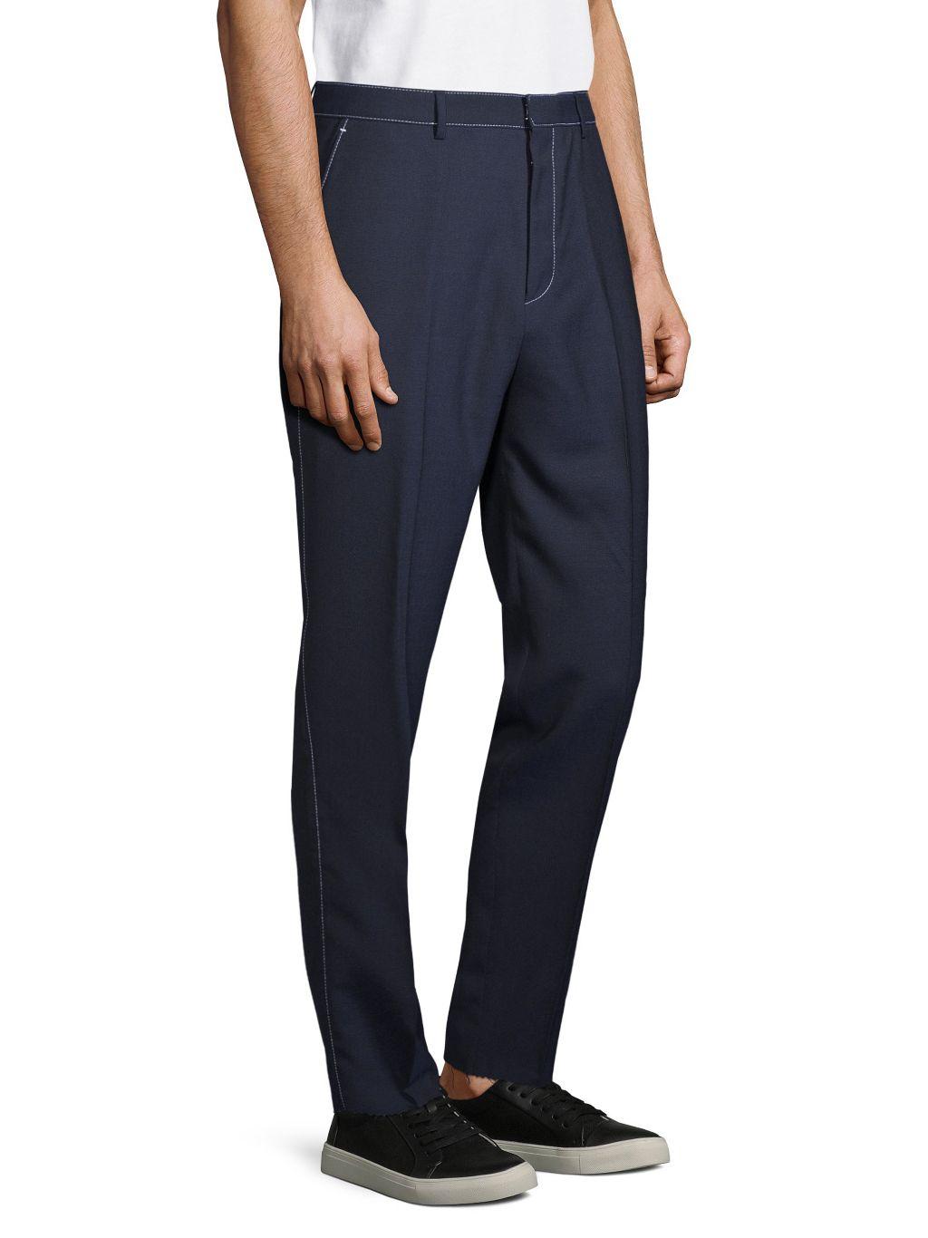 Boss Hugo Boss Zip Wool Pants