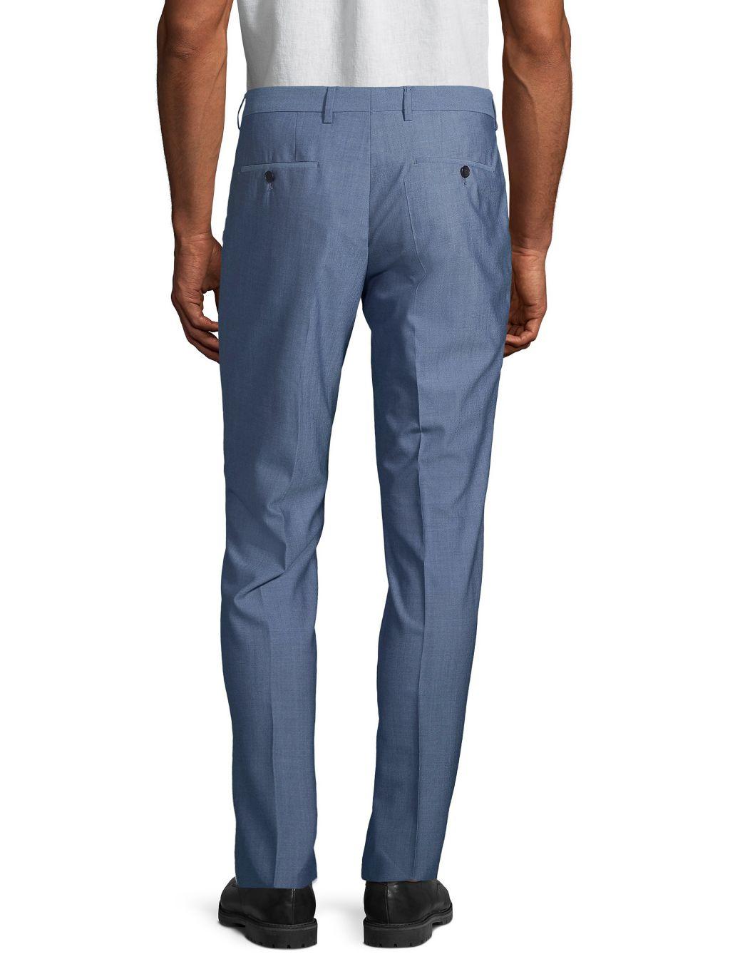 Boss Hugo Boss Standard-Fit Wool Pants