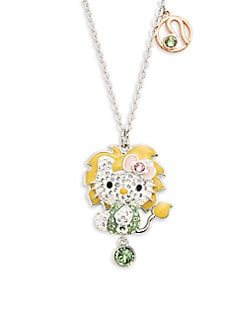 3f0a53afd Product image. QUICK VIEW. Swarovski. Swarovski Crystal Hello Kitty Leo  Zodiac Pendant Necklace