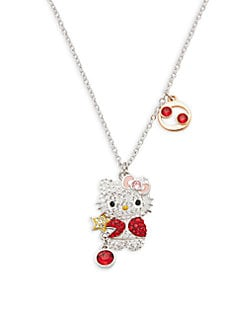 12b908cbb Swarovski Crystal Hello Kitty Cancer Zodiac Pendant Necklace NO COLOR ·  Product image · Swarovski