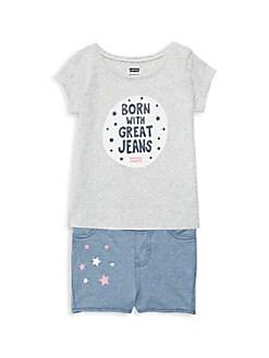 cc455346124a Baby Girl Clothes: Designer Dresses & More   SaksOff5th.com