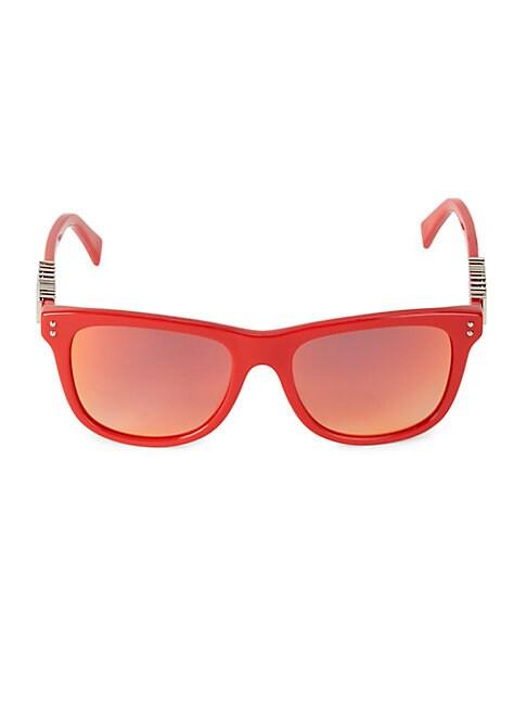 Moschino Women's 53mm Square Sunglasses In Black